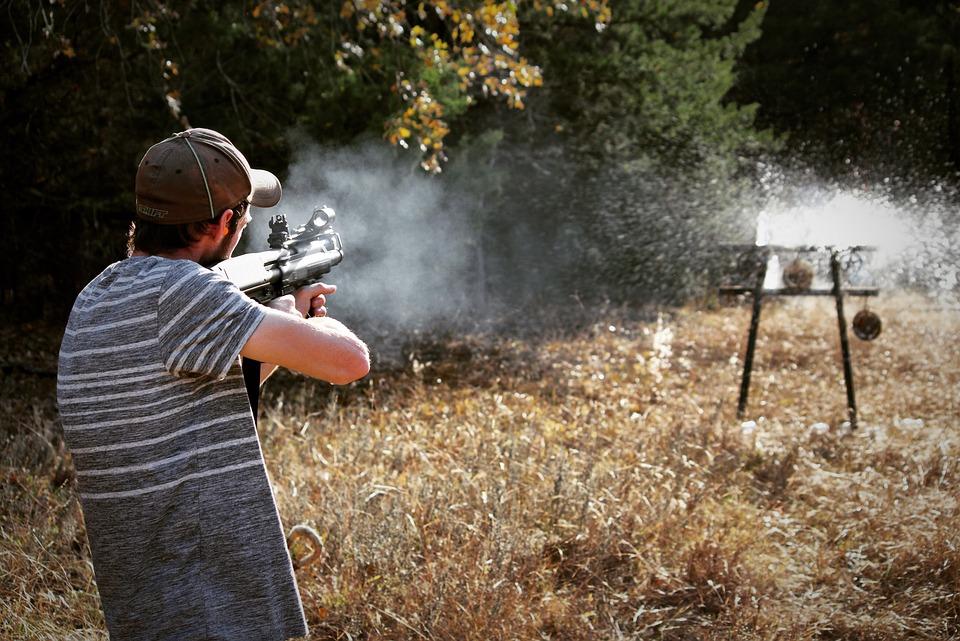 Shooting, Shoot, Gun, Target, Bullet, Shotgun, Tactical