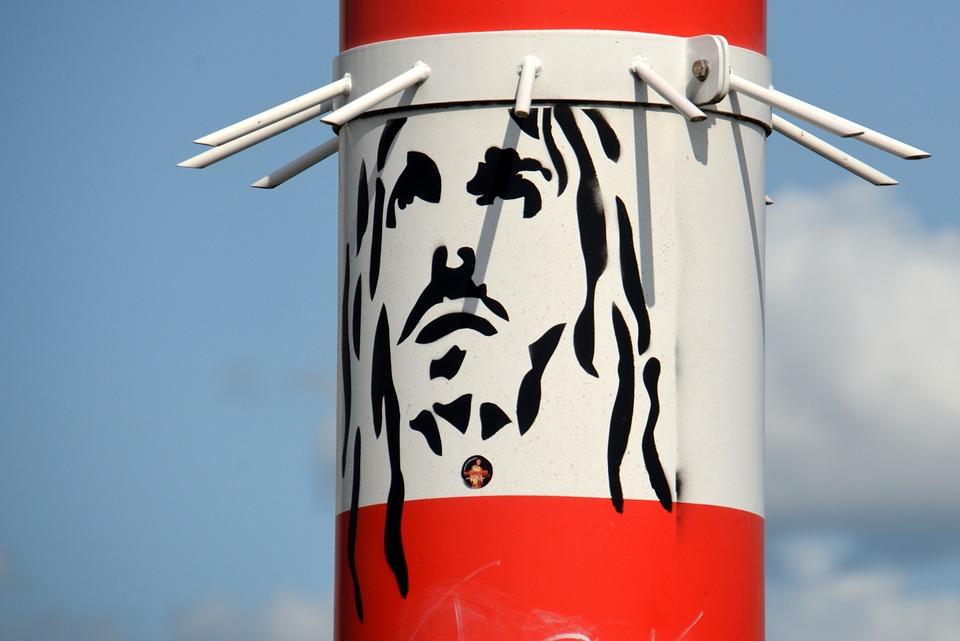 Arte callejero: Jesús