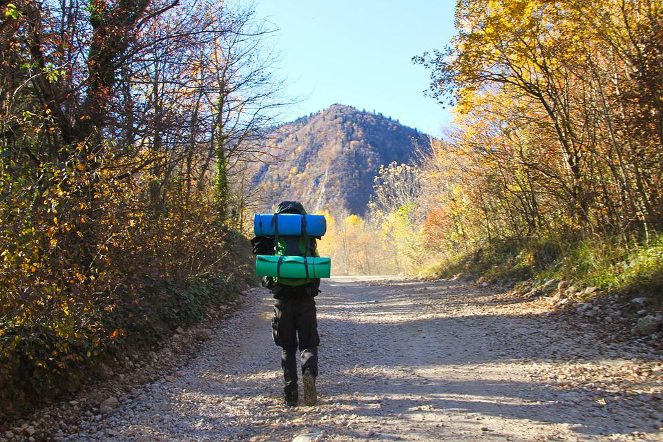 Camping, Backpack, Mountains, Adventure, Nature, Man