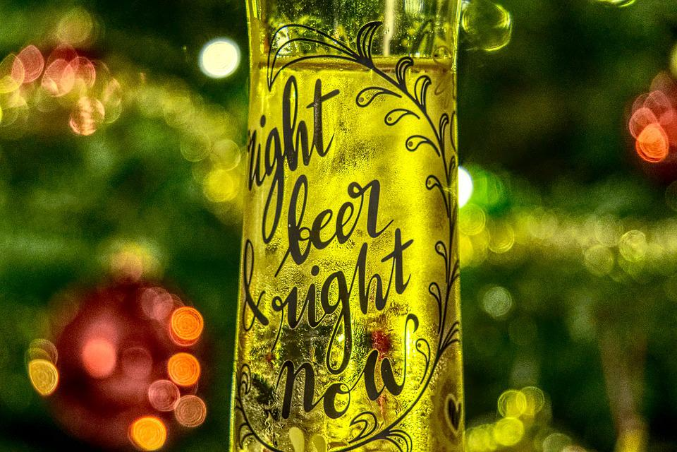 Bier Weihnachtsbaum.Bierglas Bier Getränk Kostenloses Foto Auf Pixabay