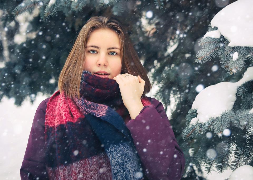 Девушка Зима Погода - Бесплатное фото на Pixabay