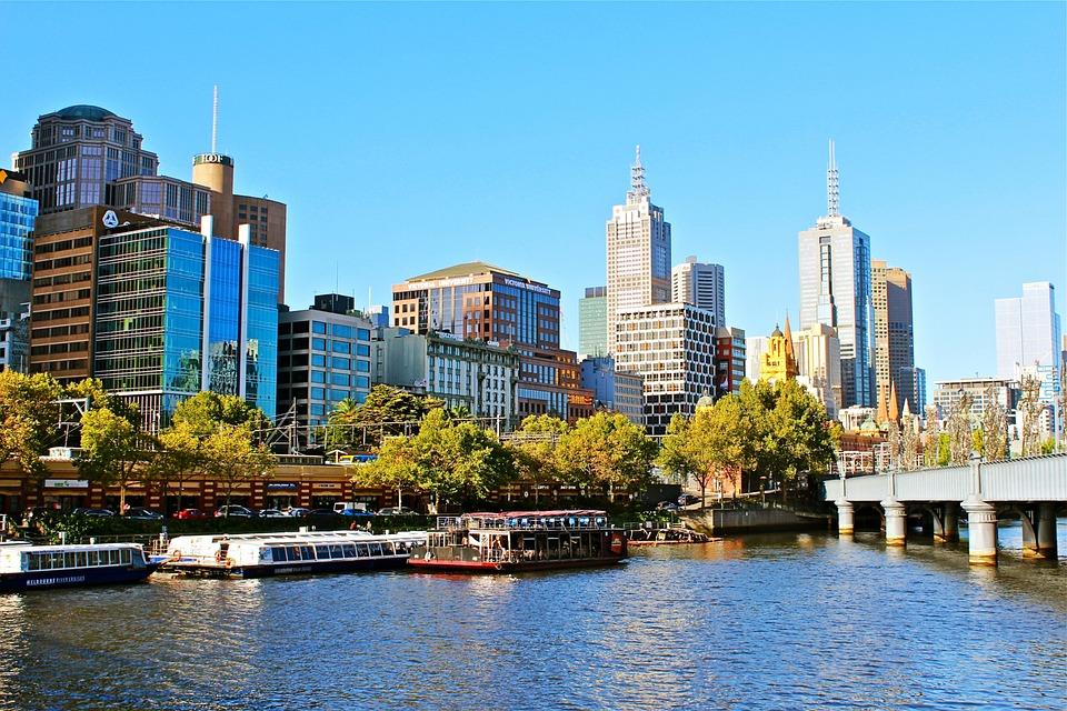 Australia, Melbourne, City, Cityscape, Urban, Building