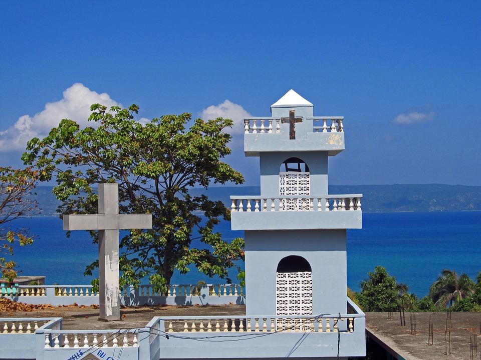 Kościół, Kościół Haiti, Haiti, Błękitne Morze