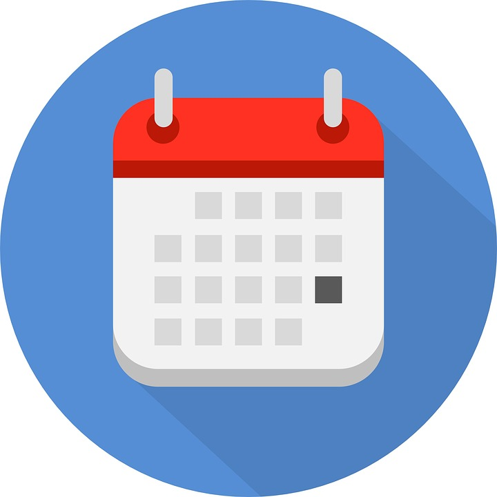 Resultat d'imatges de icono calendario