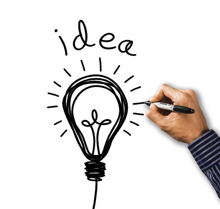 アイデア, 技術革新, インスピレーション, ソリューション, 創造性, 電球, ビジネス