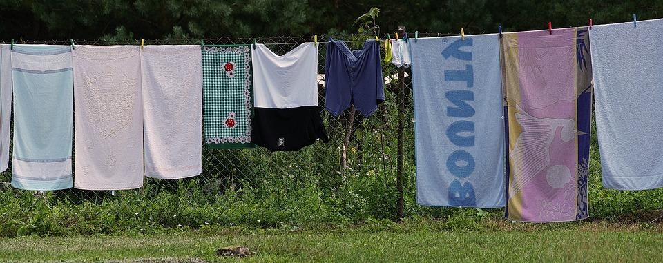 Wäscheleine Wäsche Trocknen - Kostenloses Foto auf Pixabay
