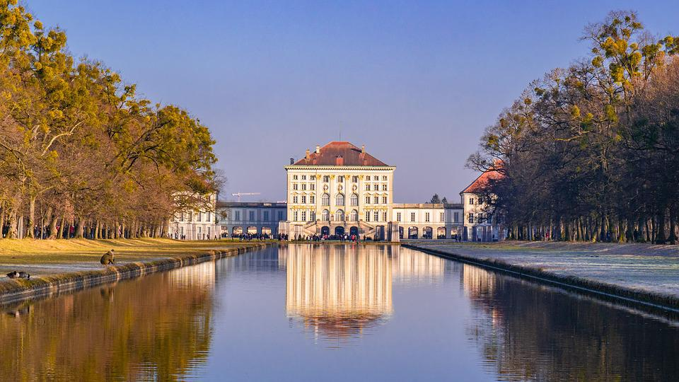 Munich, Castle, Places Of Interest, Nymphenburg Palace