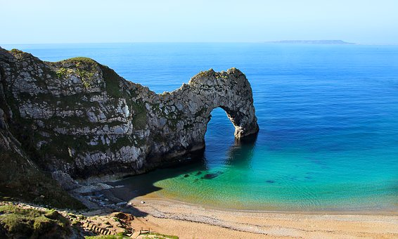 Cornwall, Felsentor, Durdle Door