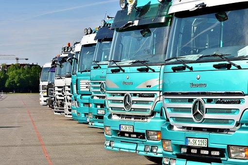 Camion, Véhicule Utilitaire, Mercedes