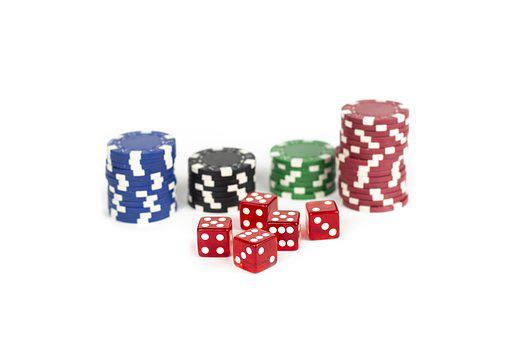 Chips, Casino, Luck, Red, Cube, Play