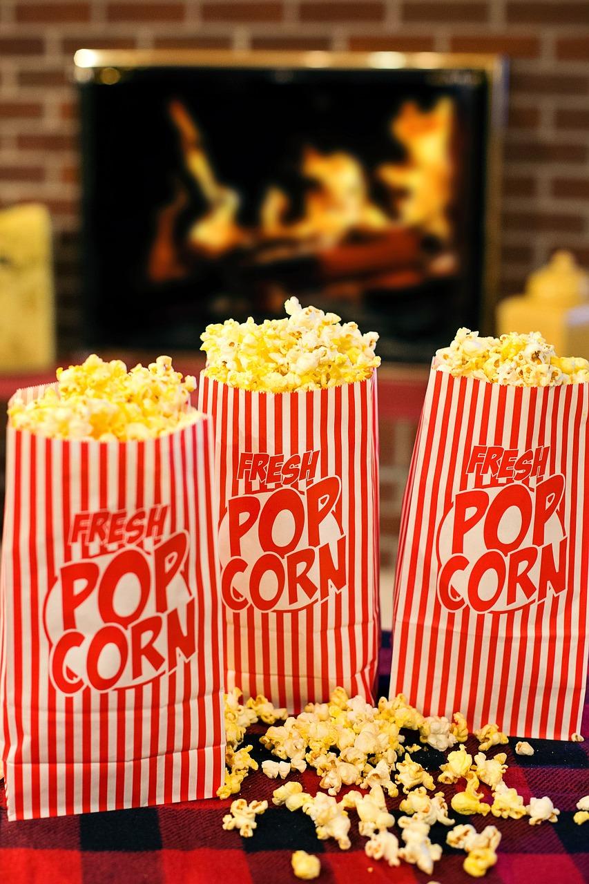 Popcorn Movie Time Snack - Free photo on Pixabay