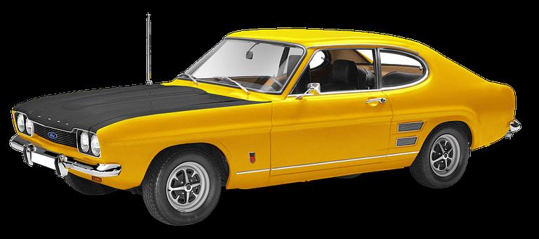 Ford Capri, 2600Rs, 6Zyl, V Engine