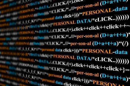 Personal Data, Data, Click, Programming