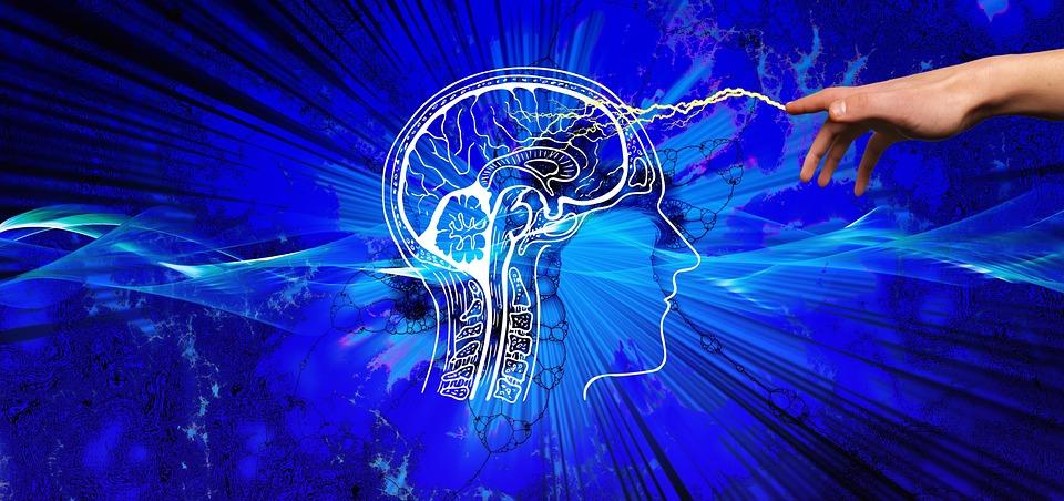 知識、スパーク、フラッシュ、手、考える、インスピレーション