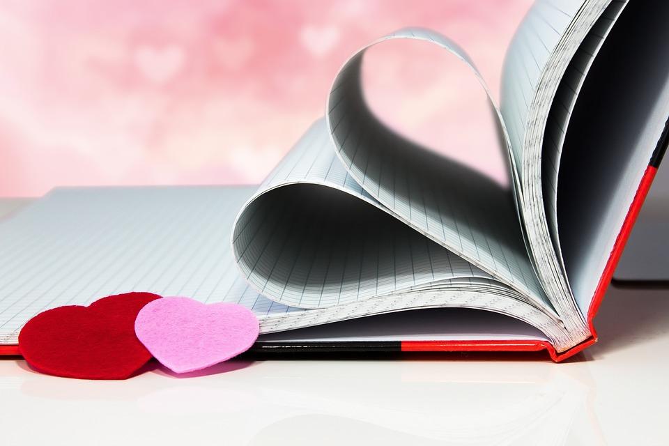 Dia dos Namorados, Amor, Romance, Coração, Amorosa, Papel