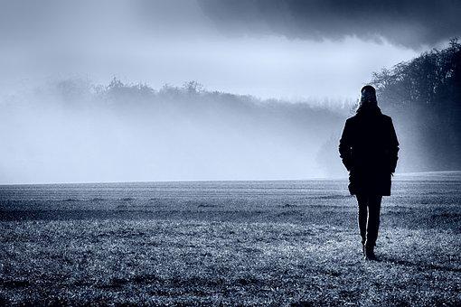Fog, Dawn, Landscape, Sunrise, Nature