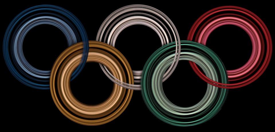 青, 色, 競争, イベント, 5, ゲーム, 緑, オリンピック, オリンピック大会, 赤, リング