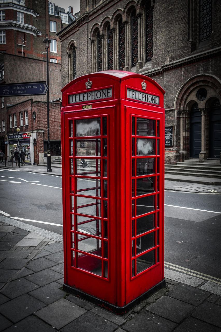 телефонные будки в америке фото трехраздельная