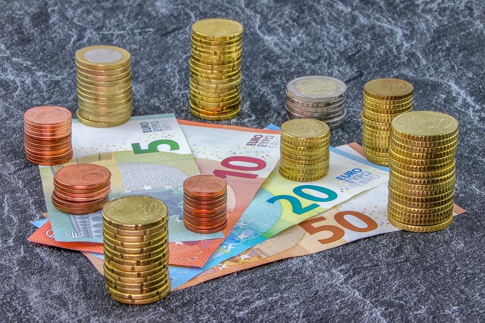 お金, コイン, 紙幣, ユーロ, セント, 通貨, お支払い, ビジネス, 現金, 50, 20, 10