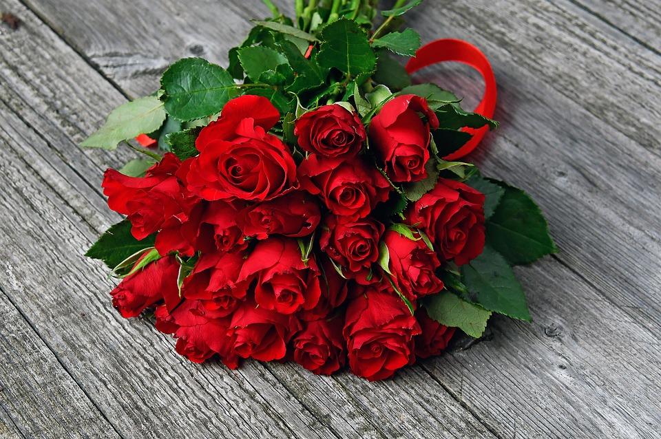 Bông Hồng đỏ Bó Hoa ảnh Miễn Phí Trên Pixabay