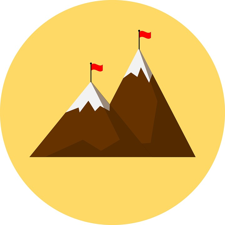 Image result for goal mountain