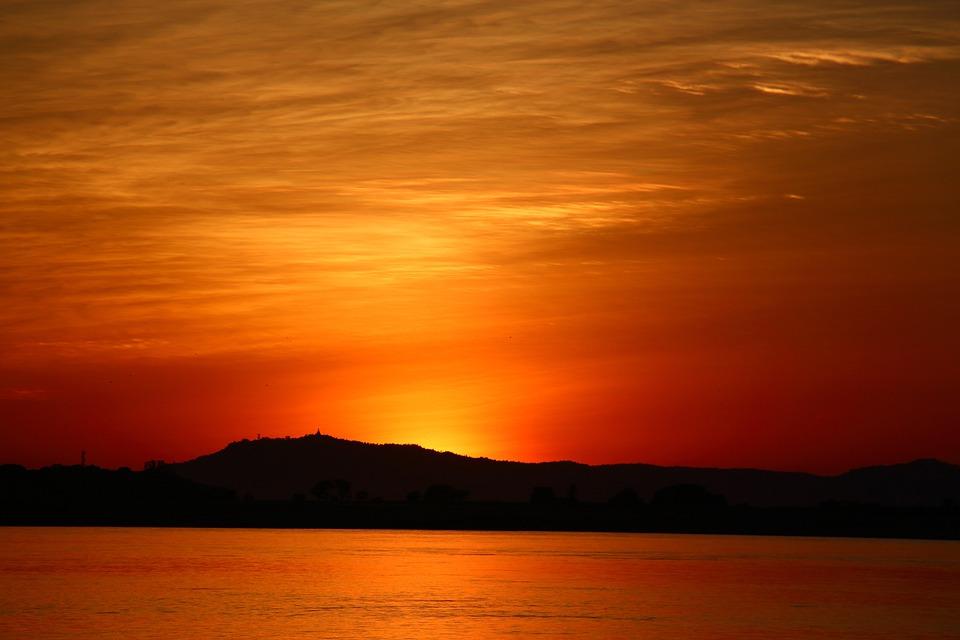 судно поднято картинки оранжевое небо оранжевое море знак зодиака постоянно