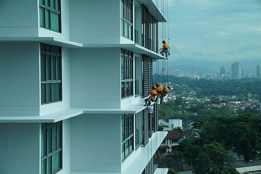Building Maintenance, Job In The Air