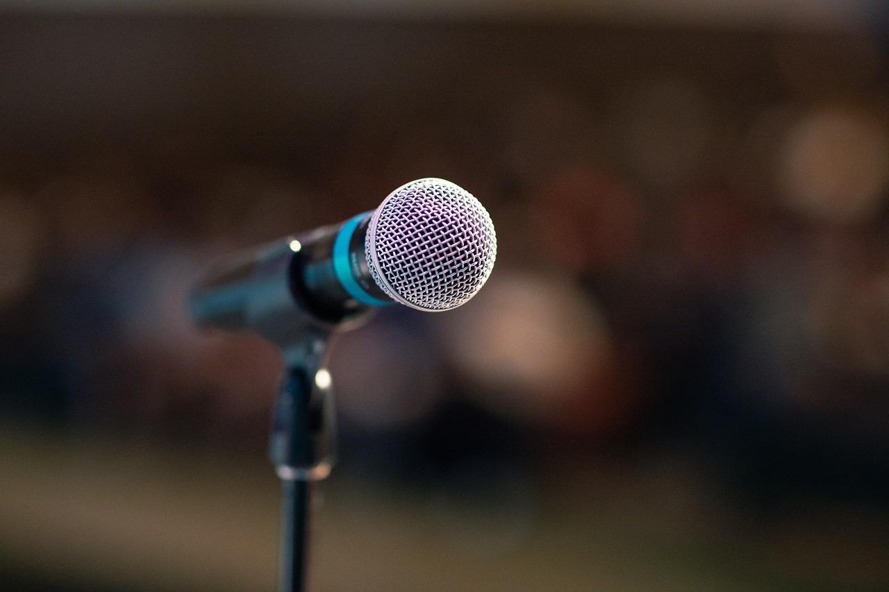 Art Oratoire Mic Microphone - Photo gratuite sur Pixabay