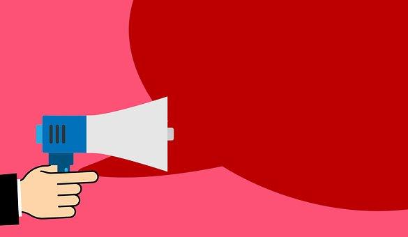喊话器, 宣布, 广告, 忠告, 通讯, 企业, 信息, 领导, 市场营销