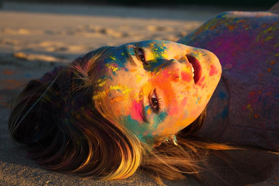 Body Painting Sunset Beach - Free photo on Pixabay