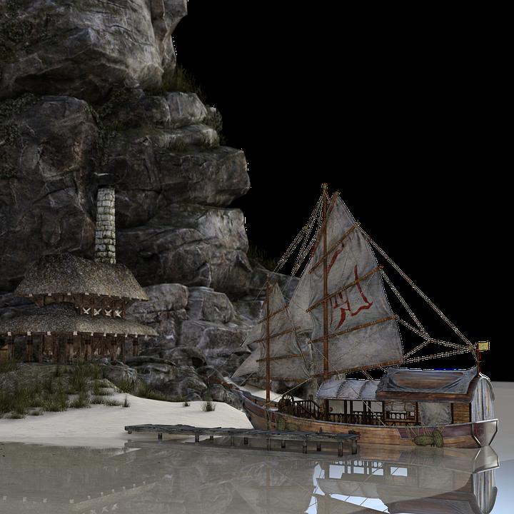 Handelsschiff, Altertümlich, Mittelalterlich