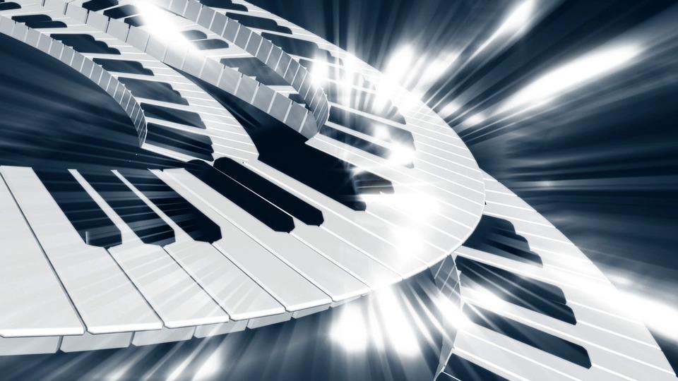 Música, Teclado, Piano, Concierto, Instrumento, Teclas