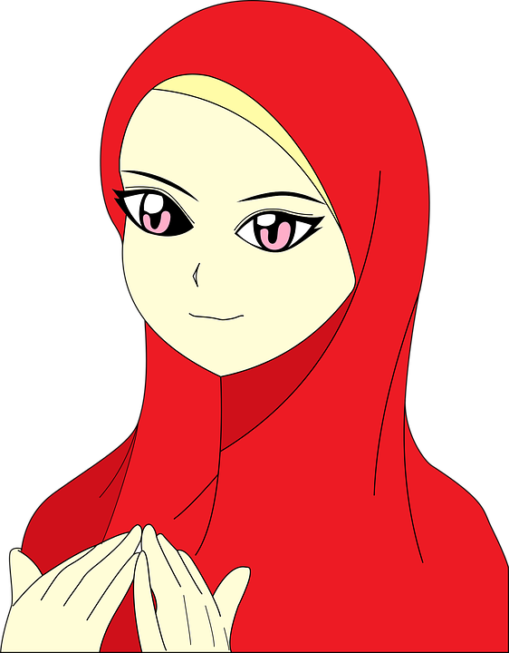 Muslim, Girl, Islam, Female, Head Covering, Hijab