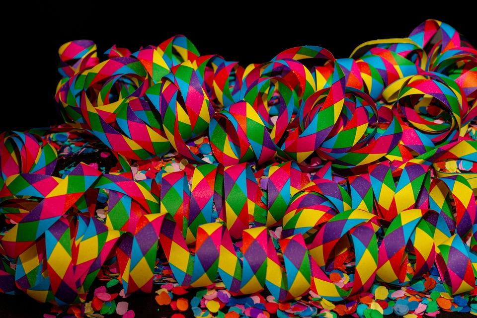 Streamer Carnevale Coriandoli Foto Gratis Su Pixabay