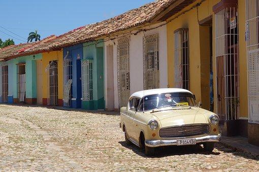 Unsere Kuba-Rundreise: Trinidad auf Kuba - typische Gasse