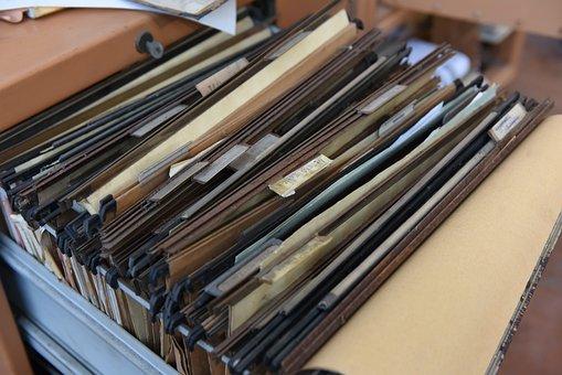コレクター, 書類, オフィス, フォルダ, 作業, アーカイブ, 申請書