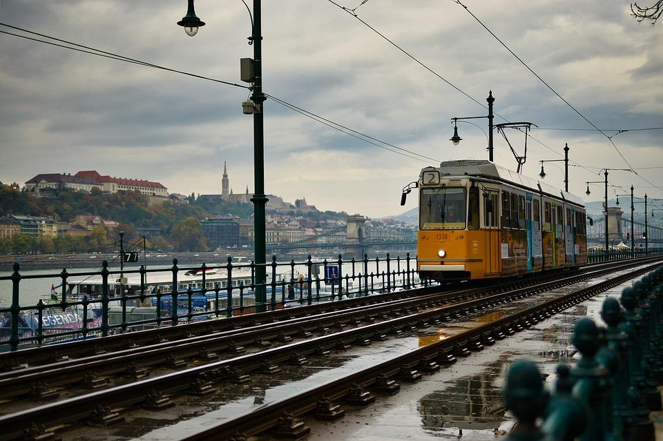 Budapest, Tram, Europe, Transport, To Travel, Cityscape