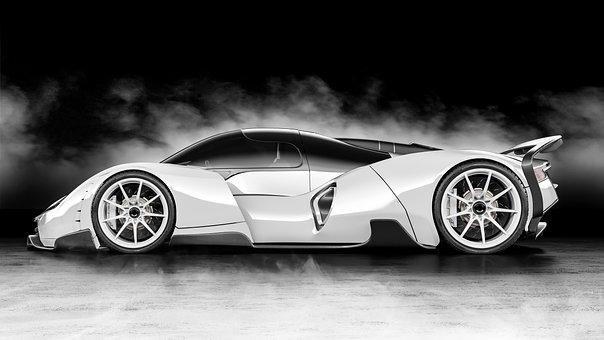 Car, Concept, Vehicle, Auto, Speed