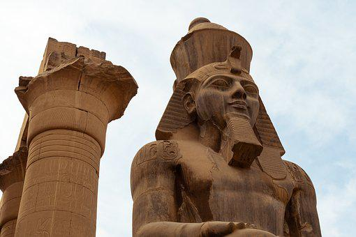 Pharaoh, Egypt, Statue, Sphinx, Luxor