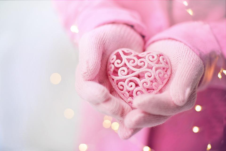 バレンタインの日, バレンタイン, 中心部, ピンク, 愛, ロマンチック, ロマンス, 誕生日, 結婚式