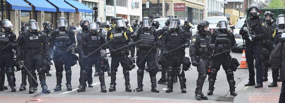 Portland, Police, Protest, Riot