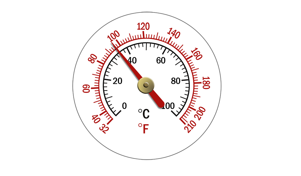 Gauge, Thermostat, Control, Dial, Temperature, Heating