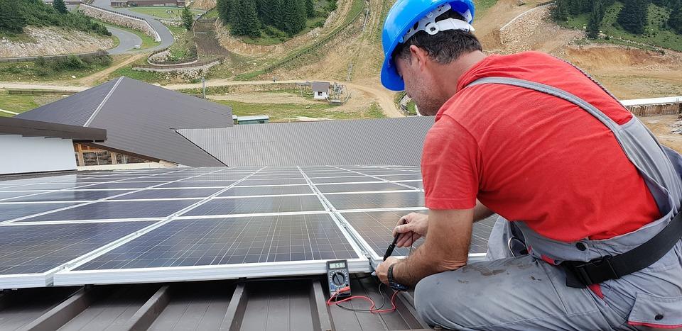 Technicien, Panneau Solaire, Énergies Renouvelables