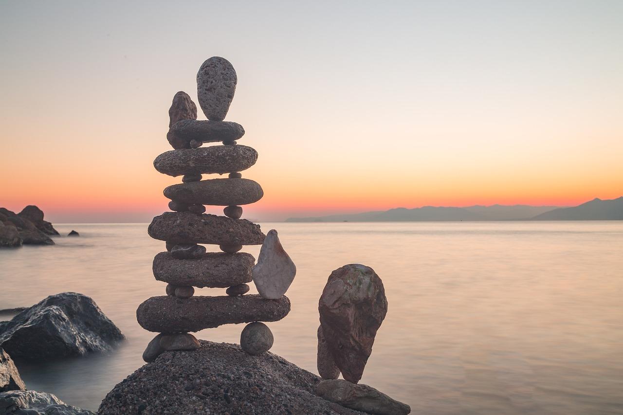 Gravity Sea Stone Free Photo On Pixabay