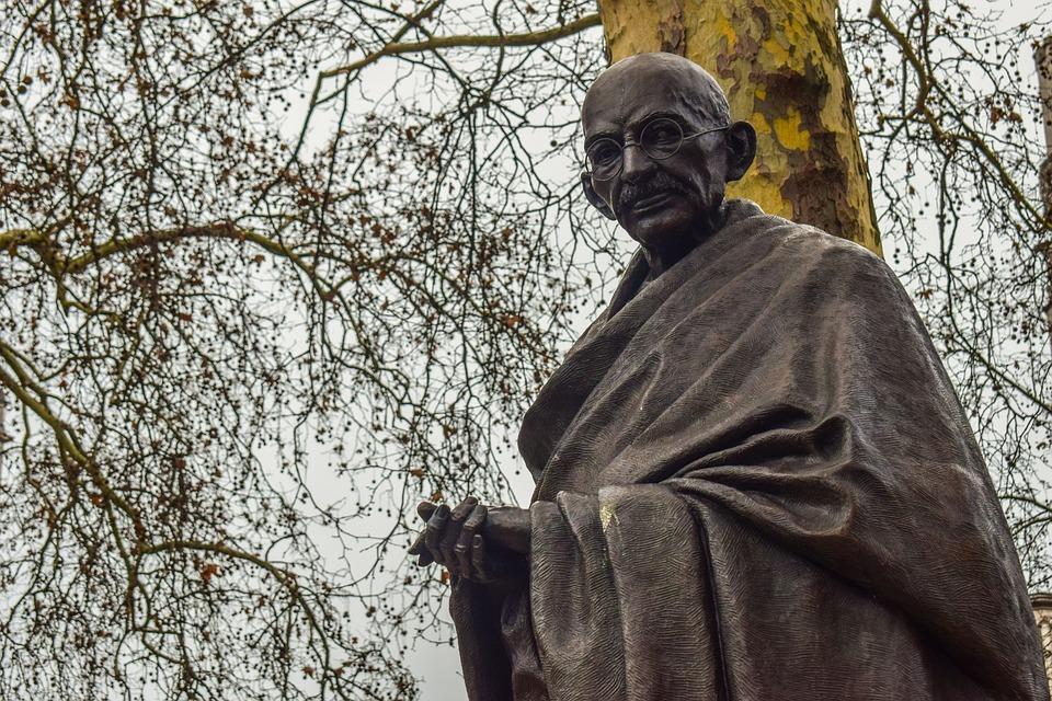 Mahatma, Ghandi, Statue, Indian, Gandhi, Führer