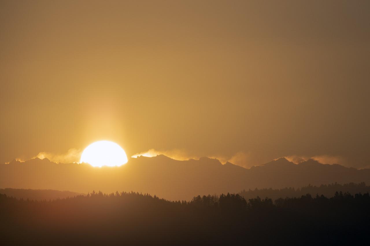 Тыва картинки с восходом солнца