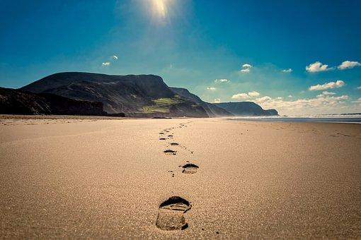 Orme, Beach, Sabbia, Mare, Ocean