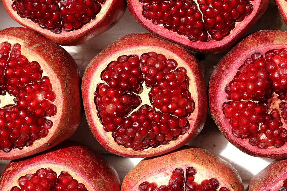 Fruits, Grenade, En Bonne Santé, Mûres, Savoureux