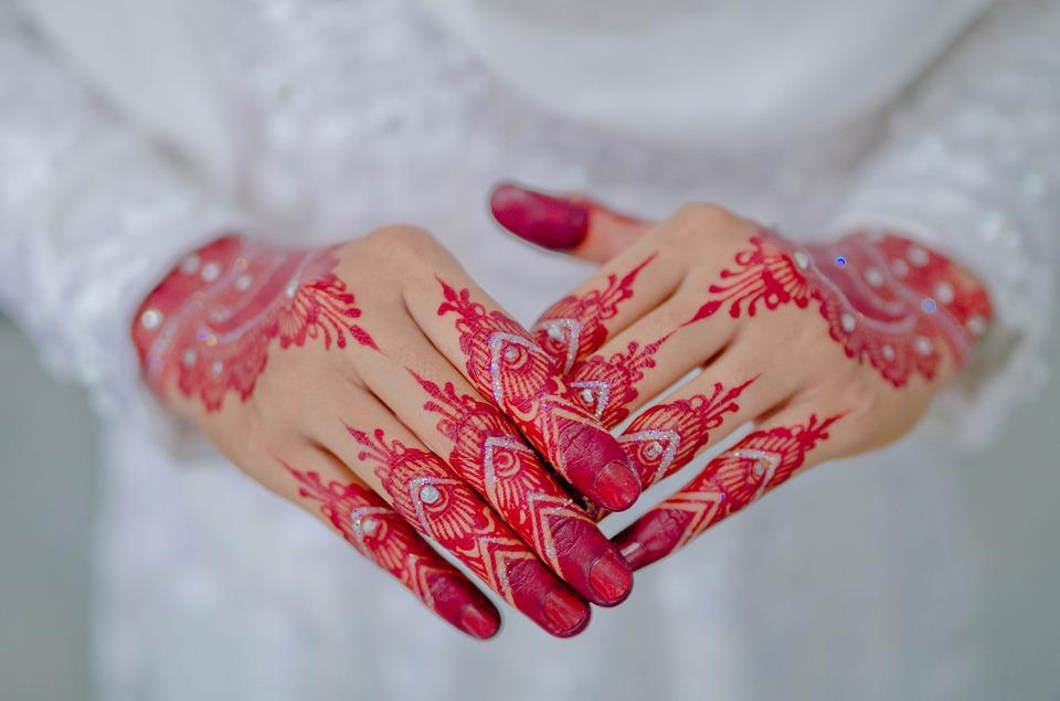 Henna Pengantin Bollywood Foto Gratis Di Pixabay