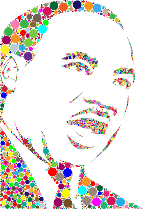 Dr Martin Luther King Jr African Free Vector Graphic On Pixabay